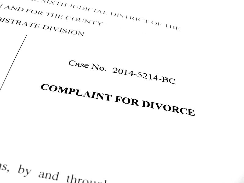 File for Divorce First